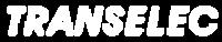logo Blanc Transelec intégrateur audiovisuel Brest et Rennes
